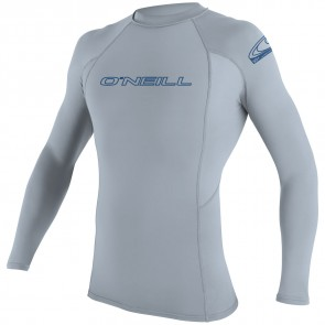 O'Neill Wetsuits Basic Skins Long Sleeve Crew - Fog Blue