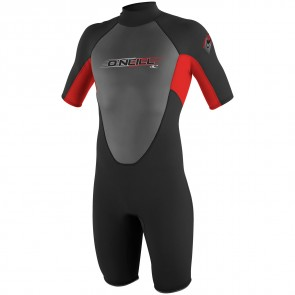 O'Neill Youth Reactor Spring Wetsuit - Black/Red
