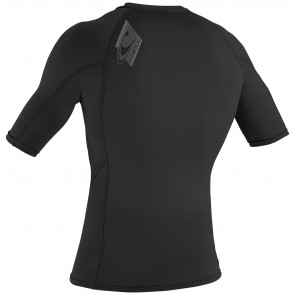 O'Neill Wetsuits Skins Short Sleeve Rashguard - Black