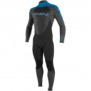 O'Neill Youth Epic 4/3 Wetsuit - Black/Graphite/Bright Blue