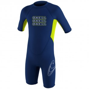 O'Neill Toddler Reactor Spring Wetsuit - Navy/Lime