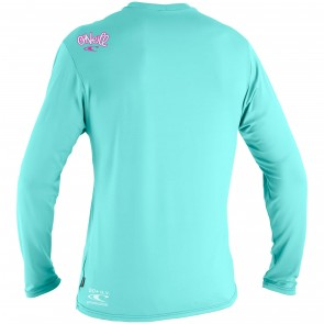 O'Neill Wetsuits Toddler Skins Long Sleeve Rash Tee - Seaglass