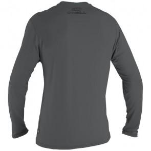 O'Neill Wetsuits Basic Skins Long Sleeve Rash Tee - Smoke