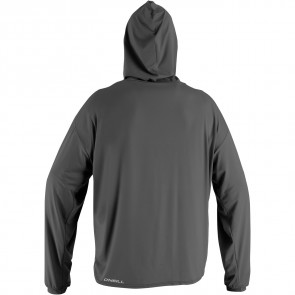 O'Neill 24/7 Tech Long Sleeve Hoodie Rash Guard - Graphite