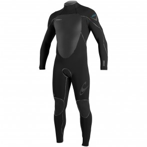 O'Neill Psycho Freak 3/2 Back Zip Wetsuit - Black/Sky