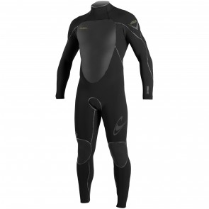 O'Neill Psycho Freak 3/2 Back Zip Wetsuit - Black