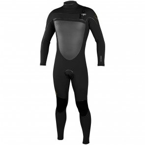 O'Neill Psycho Freak 4/3 Chest Zip Wetsuit - Black