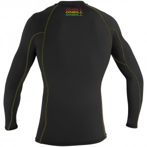 O'Neill Wetsuits Skins Graphic Long Sleeve Crew - Black