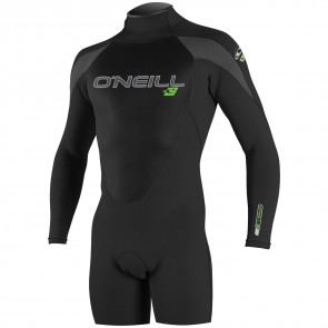 O'Neill Epic 2mm Long Sleeve Spring Wetsuit - Black/Graphite
