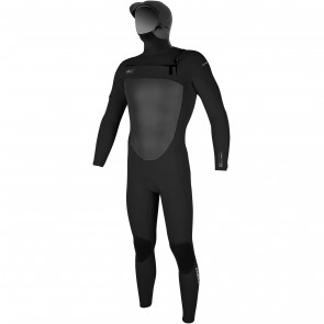 O'Neill SuperFreak 5/4 Hooded Wetsuit - Black