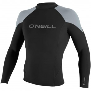 O'Neill Hammer 1.5mm Long Sleeve Jacket - Black/Cool Grey/Bright Blue