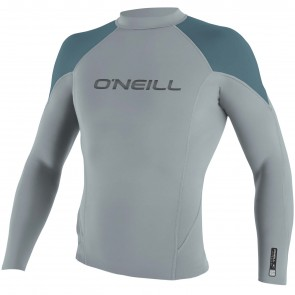 O'Neill Hammer 1.5mm Long Sleeve Jacket - Cool Grey/Dusty Blue/Black