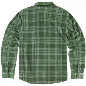 O'Neill Superfleece Glacier Stripe Flannel - Olive
