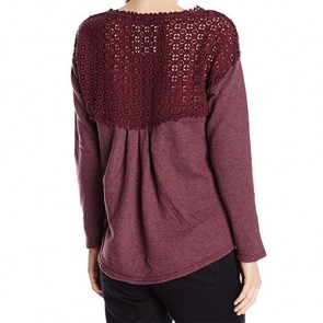 O'Neill Women's Partington Long Sleeve Top - Berry