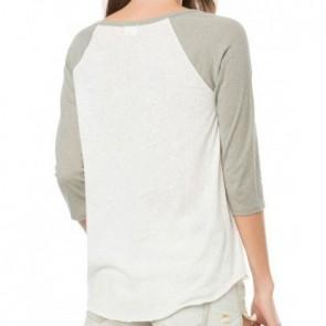 O'Neill Women's Magnolia Raglan Top - White