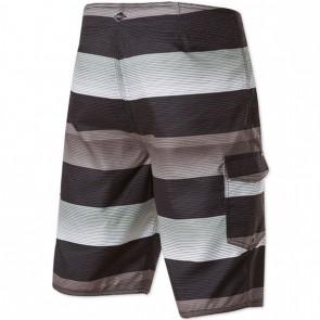 O'Neill Santa Cruz Stripe Boardshorts - Black