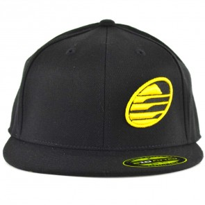 Cleanline Embroidered Rock Hat - Black/Yellow