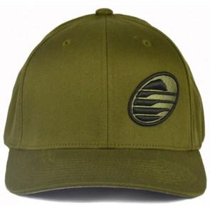 Cleanline Embroidered Rock Hat - Olive/Black