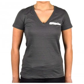 Cleanline Women's Corp Logo/Big Rock Top - Asphalt