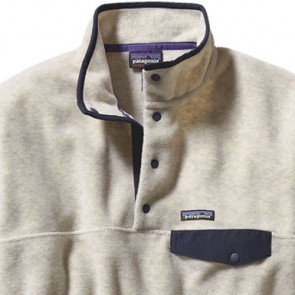 Patagonia Synchilla Snap-T Fleece Pullover - Oatmeal Heather