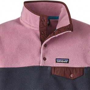 Patagonia Women's Lightweight Synchilla Snap-T Fleece Pullover - Smolder Blue