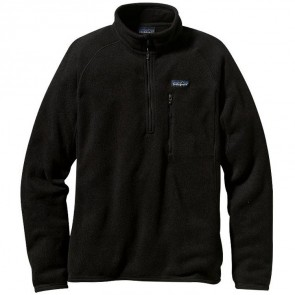 Patagonia Better Sweater 1/4 Zip Jacket - Black