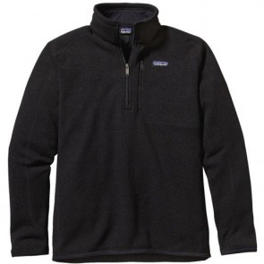 Patagonia Better Sweater 1/4 Zip Fleece - Black