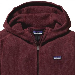 Patagonia Women's Better Sweater Zip Hoodie - Oxblood Red