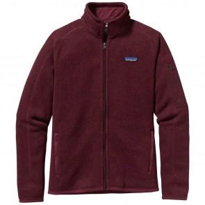 Patagonia Women's Better Sweater Fleece Jacket - Oxblood Red