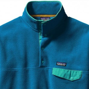 Patagonia Lightweight Synchilla Snap-T Fleece Pullover - Bandana Blue/Epic Blue