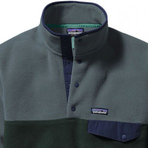 Patagonia Lightweight Synchilla Snap-T Fleece Pullover - Carbon