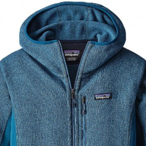 Patagonia Women's Performance Better Sweater Fleece Hoody - Big Sur Blue