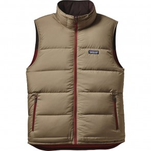 Patagonia Reversible Bivy Down Vest - Cinder Red