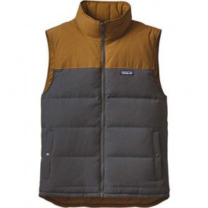 Patagonia Reversible Bivy Down Vest - Forge Grey