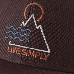 Patagonia Live Simply Santa Anas Roger That Hat - Wander Brown
