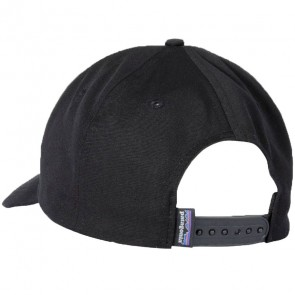 Patagonia P-6 Logo Roger That Hat - Black