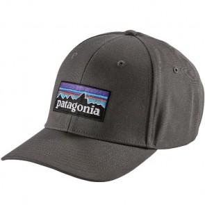 Patagonia P-6 Logo Roger That Hat - Forge Grey