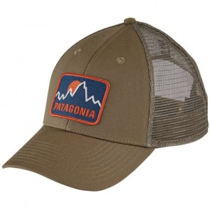 Patagonia Firstlighters Badge LoPro Trucker Hat - Ash Tan