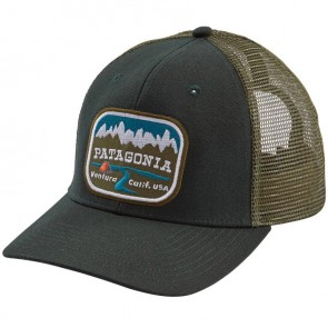 Patagonia Pointed West Trucker Hat - Carbon