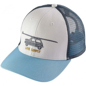 Patagonia Live Simply Glider Trucker Hat - White