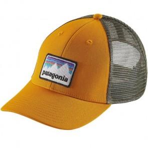 Patagonia Shop Sticker Patch LoPro Trucker Hat - Ysidro Yellow