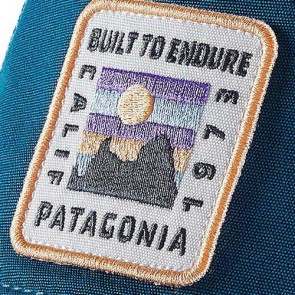 Patagonia Women's Ridge Ride Patch Layback Trucker Hat - Big Sur Blue
