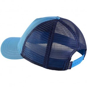 Patagonia Women's Pastel P-6 Label Layback Trucker Hat - Radar Blue
