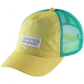Patagonia Women's Pastel P-6 Label Layback Trucker Hat - Yoke Yellow