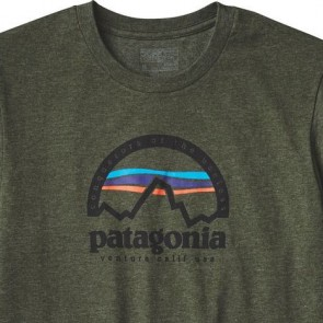 Patagonia Arched Logo T-Shirt - Urbanist Green
