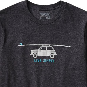 Patagonia Live Simply Glider T-Shirt - Black