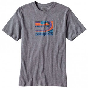 Patagonia Framed Fitz Roy Responsibili T-Shirt - Nickel