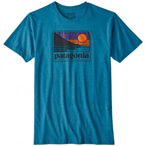 Patagonia Up and Out T-Shirt - Filter Blue