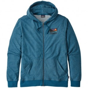 Patagonia Up and Out Lightweight Zip Hoodie - Big Sur Blue