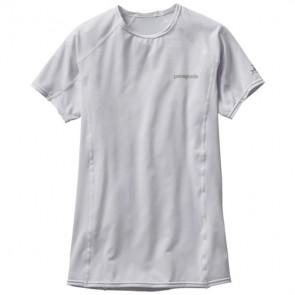 Patagonia Wetsuits Women's R0 Short Sleeve Rash Guard - White